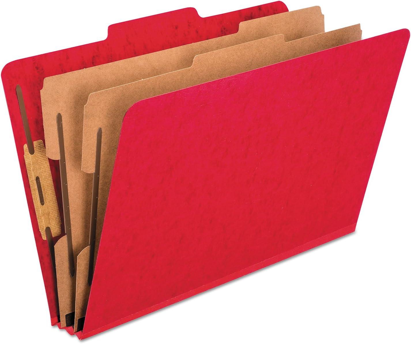 Pendaflex 2257SC Six-Section Colored Leg Classification Sale item Folders OFFicial store