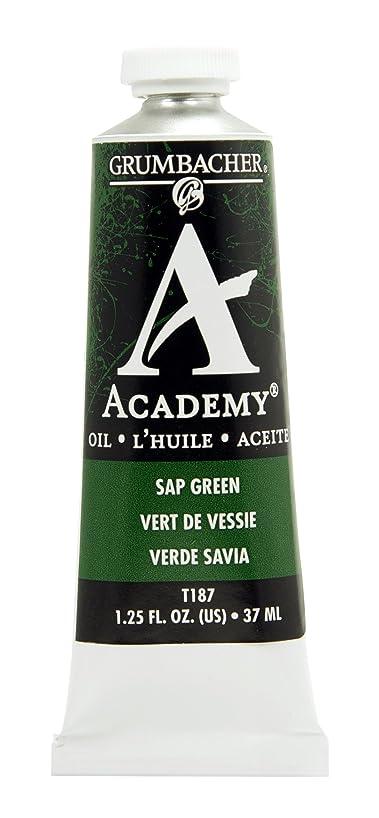 Grumbacher Academy Oil Paint, 37 ml/1.25 oz, Sap Green