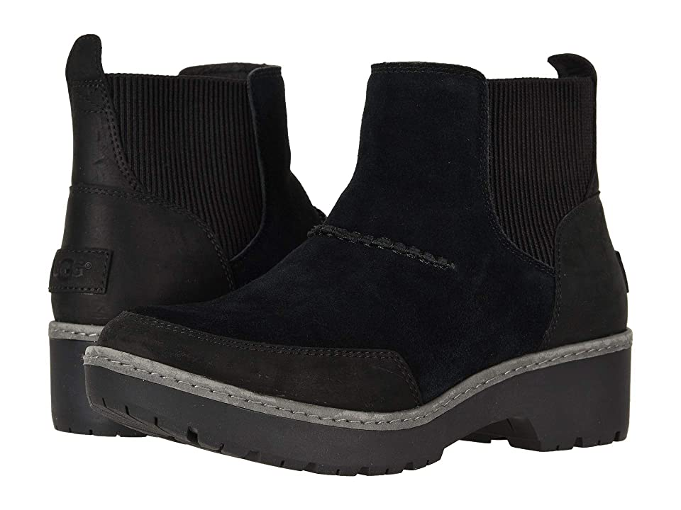 UGG Kress Ankle Boot (Black) Women