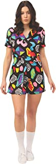 Rubie's Women's Stranger Things 3 Eleven's Mall Costume Dress, Multi Colored