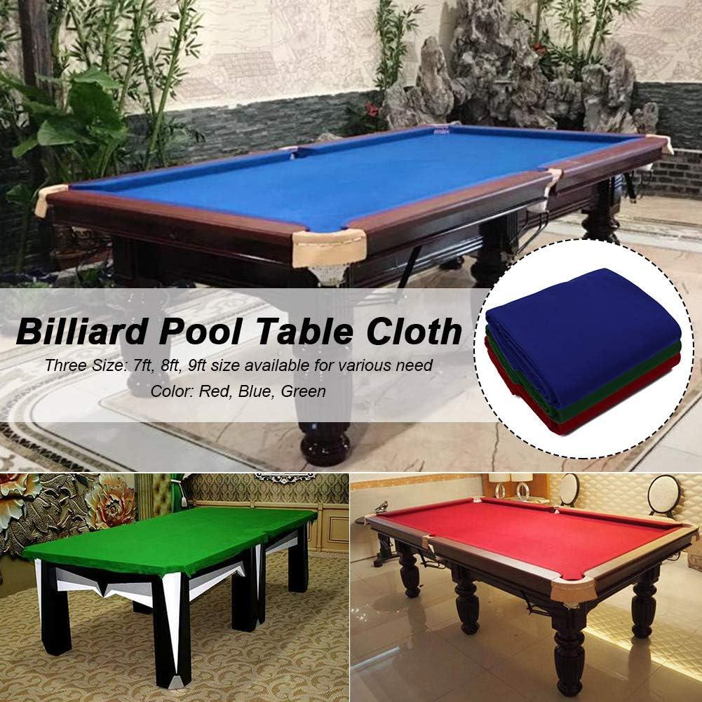 Sports Game Table Cloth for 7//8//9 ft Mat Strips Bar Hotel Professional Durable Pool Table Cloth CALIDAKA Billiard Cloth Pool Table Felt Fast Speed Pool Cloth Table Ball Speed Cloth