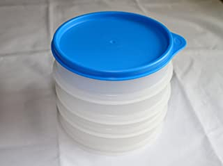 Tupperware 1 Set of 4 Hamburger Keepers