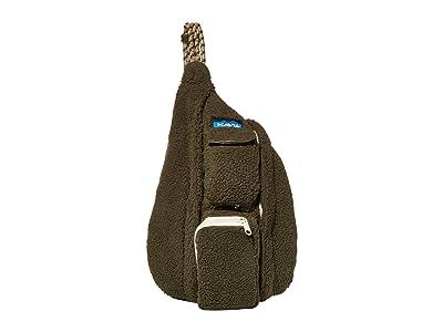 KAVU Mini Rope Fleece (Marsh) Cross Body Handbags