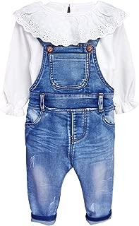 Little Girls & Baby 2-Piece Big Bib Jeans Clothing Sets