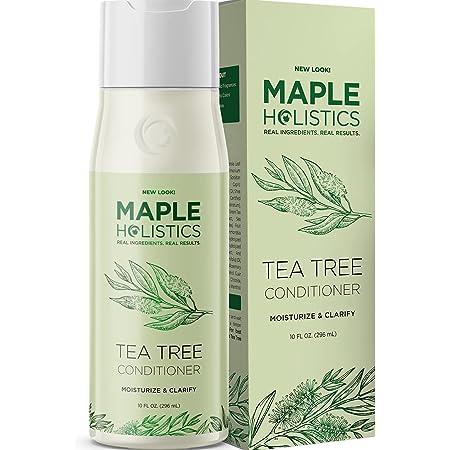 Tea Tree Conditioner for Dry Hair - Tea Tree Oil Conditioner for Damaged Dry Hair and Cleansing Conditioner for Dry Scalp Care - Sulfate Free Conditioner with Nourishing Tea Tree Oil for Hair Care