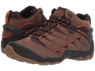 Merrell Chameleon 7 Mid Waterproof (Dark Earth) Men