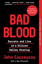 Cover image of Bad Blood by John Carreyrou