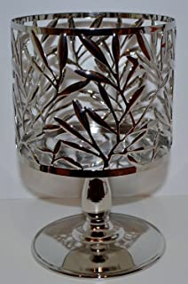 Bath & Body Works Vine Leaf Pedestal 3 Wick Candle Sleeve Holder