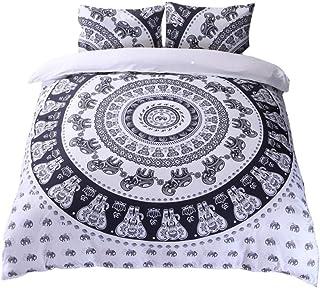 comprar comparacion GODGETS Bohemia Funda de edredón diseño de Mandala Ombra y teñido, Colcha Bohemia, Ropa de Cama de Mandala, Colcha Hippie ...