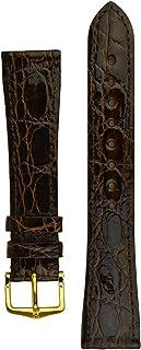 Hirsch Genuine Croco Leather Watch Strap - 18920810-1-20