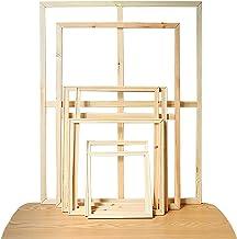 Diamond Pine Wood Stretcher Bars Canvas Prints Frames Strips Multiple Sizes 20-100cm Wall Decoration, DIY Canvas Art Essen...