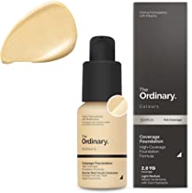 The Ordinary Coverage Foundation 30ml 2.0 YG Light Medium