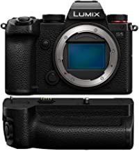 Panasonic Lumix DC-S5 Mirrorless Digital Camera (Body Only) DMW-BGS5 Battery Grip