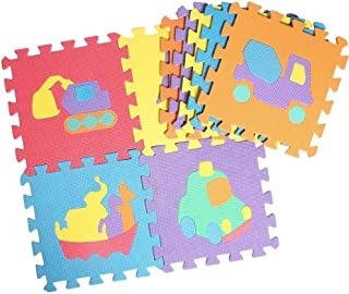 Z Baby Play Mat, EVA Foam Puzzle Play Mat Baby, 10 Animal Pattern Foam Puzzle Baby Entertainment Center Play Mat For Baby ...