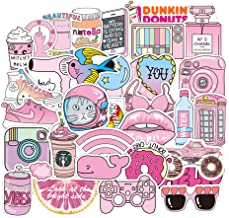 Waterproof Stickers Lovely Aesthetic Vinyl Sticker Decals for Teen Girls Aesthetic – Perfect for Laptop MacBook Skateboard Motorcycle Luggage Bottles Fridge Aquatic Sporting Supplies - 50pcs/Pack
