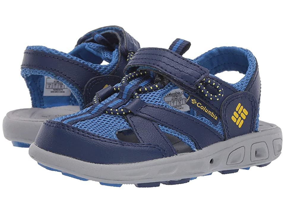 Columbia Kids Techsun Wave (Toddler/Little Kid/Big Kid) (Cousteau/Deep Yellow) Boys Shoes