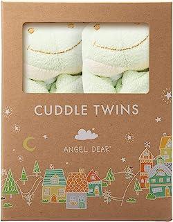 Angel Dear Cuddle Twin Set, Green Froggy