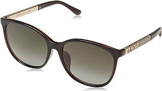 نظارات شمسية للنساء من جيمي تشو، لون هافانا واسود وبني،  Charly/F/S HA 9N4 57