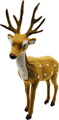 """Holiday Reindeer Model, 10.5"""" high, collectible Holiday Decor, Gift for Kids"""