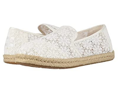 TOMS Deconstructed Alpargata Rope (Natural Floral Lace) Women