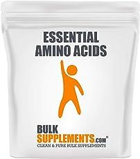 BulkSupplements.com Essential Amino Acids (EAA) Powder - Amino Acids Supplement - Recovery Supplements Post Workout (1 Kilogram)