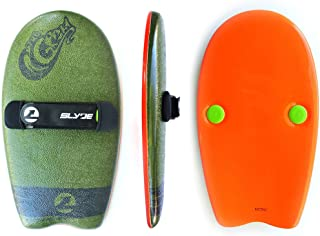 As Seen On Shark Tank! The Slyde Grom Soft Top Body Surfing Handboard/Handplane, Easy to Use, Fun to Master, Safe for Kids, Portable, Light Weight, Durable with Exceptional Buoyancy