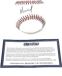 Jose Altuve Houston Astros Signed Autograph Official MLB Baseball Steiner Sports Certiifed