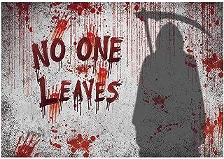 Funnytree Kulisse für Halloween, gruselig fließendes Blut, Horrorible Handabdruck, Hallows Eve Party, Dekoration, Banner, Geschenke, Fotokabine, Verkleidungen, Requisiten