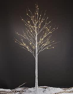 Lightshare 8FT 132L LED Birch Tree,Warm White
