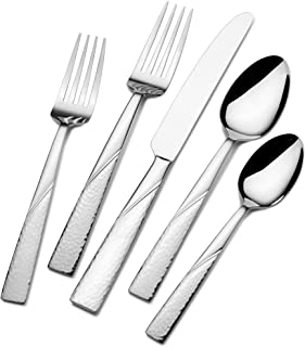 Gourmet Basics by Mikasa Barletta 20-Piece Stainless Steel Flaware Set, Service for 4