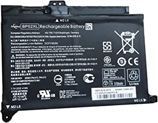 Dentsing Replacement BP02XL Laptop Battery Compatible HP Pavilion PC 15 15-AU000 15-AU010WM 15-AU018WM 15-AW000 Series HST...