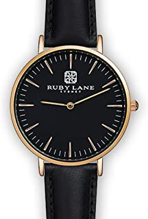 Ruby Lane Women OB-Round Analog Quartz Watch
