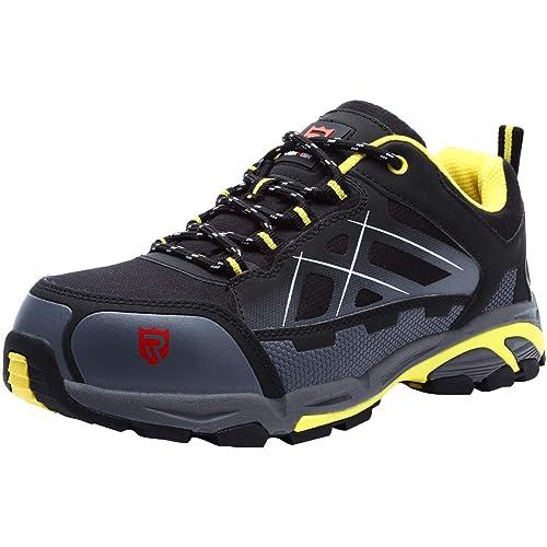 0778caafdc3 Zapatos de Seguridad para Hombre Zapatillas de Seguridad Trabajo Industrial  y Deportiva con Puntera de Acero