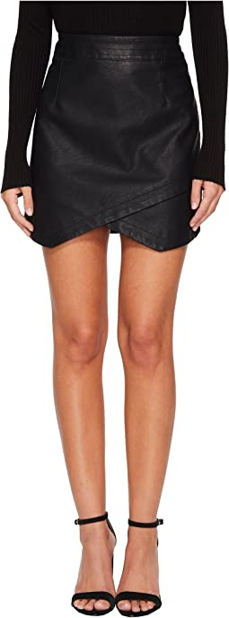 Jack by BB Dakota - Angeline Vegan Leather Skirt