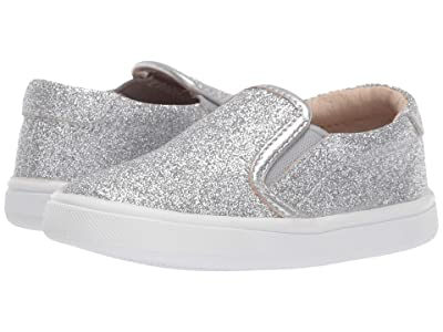 Old Soles Dressy Hoff (Toddler/Little Kid) (Glam Silver) Girl