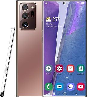 Unlocked Smartphone Note20U+, 6.9 inch HD18MP+48MP, 5G Dual SIM,12GB RAM+512GB ROM with 5000mAh Big Battery, Android 10.0,...