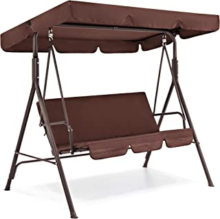 Best 2 person canopy swing glider w cushions Reviews
