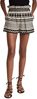 Alice + Olivia Women's Matthew Paper Bag Shorts