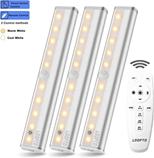Ldopto Wireless Under Counter Lighting 3 Pack With Remote Control