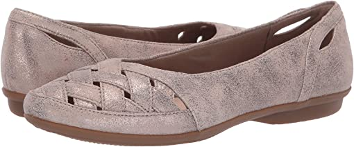 Pewter Suede