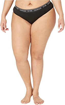 Plus Size One Cotton Average + Full Figure Bikini