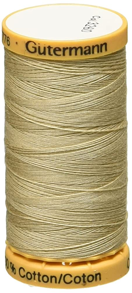 Gutermann 24666 Natural Cotton Thread 273 Yards-Boot Brown