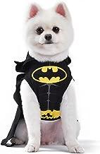 DC Comics Batman Dog Costume | Hooded Superhero Costume for Dogs | Dog Halloween Costume, X-Large