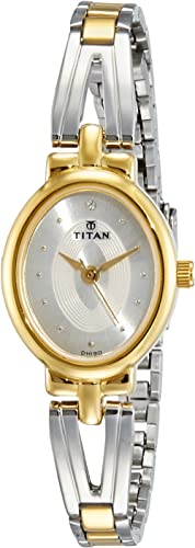 Titan Karishma Revive Analog Silver Dial Women's Watch NM2594BM01 / NL2594BM01