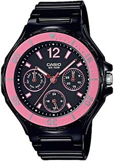 Casio Womens Quartz Watch, Analog Display and Resin Strap LRW-250H-1A2VEF