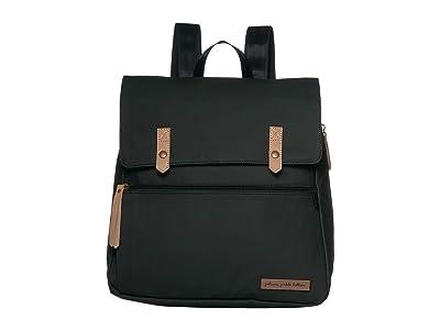 petunia pickle bottom Matte Canvas Meta Backpack (Black Matte Canvas) Diaper Bags