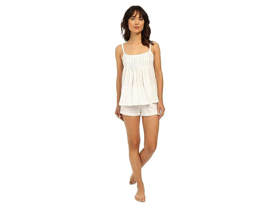 Hanro Juliet-Basic Short Pajama (White) Women