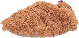 Dearfoams Kenna Fluffy Teddy Closed Back womens Slipper