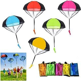 comprar comparacion SUPRBIRD Juguete de Paracaídas, 10 Piezas Juguete Paracaídas Set, Mano Que Lanza el Juguete del Paracaidista, Muy Buenos J...