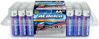 ACDelco 40-Count AA Batteries, Maximum Power Super Alkaline Battery